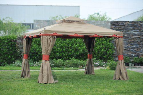 Benson Gazebo 10 12 With Netting And Walls Gazebo Gazebo Canopy