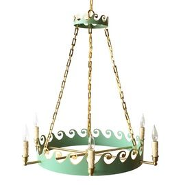 The Helena Chandelier  Chinoiserie, Traditional, Transitional, Metal, Chandelier by Coleen  Company