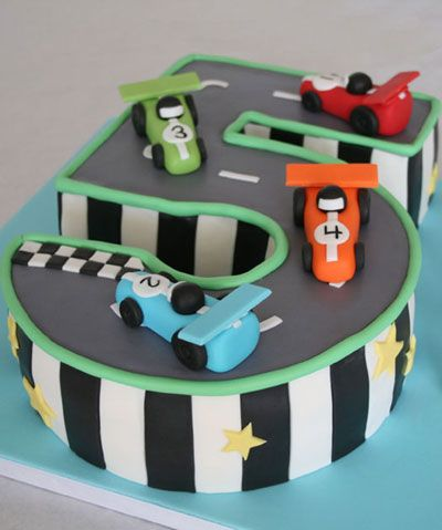 Race car cake I dont know how to do fondant but maybe Ill find