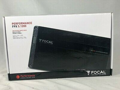 FOCAL FPX 5.1200 5-CHANNEL 1200W RMS COMPONENT SPEAKERS SUBWOOFER AMPLIFIER NEW | eBay