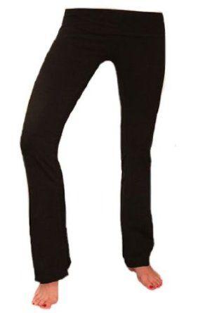 511b8784ed Hard Tail Foldover Bootcut Yoga Pants Four Pair Starter Pack (L, Multi) Hard  Tail. $200.00