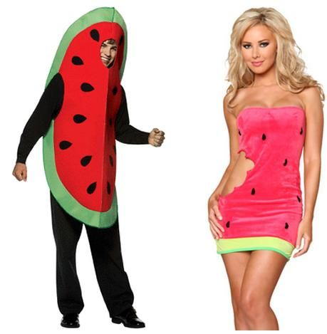 Pointlessly Gendered Watermelon Costume (click thru for more ...