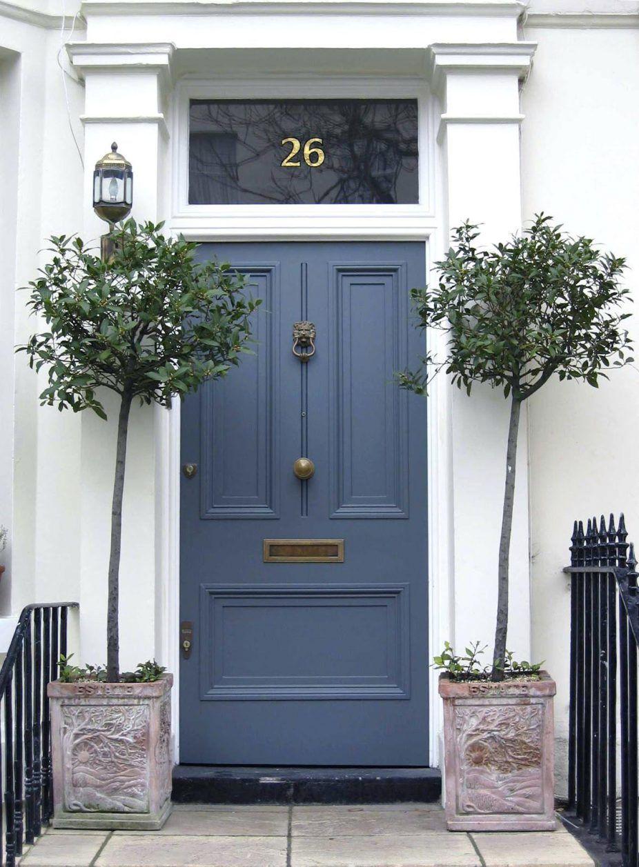 Front Door Ideas Farrow And Ball Blue Gray Front Door Door Design