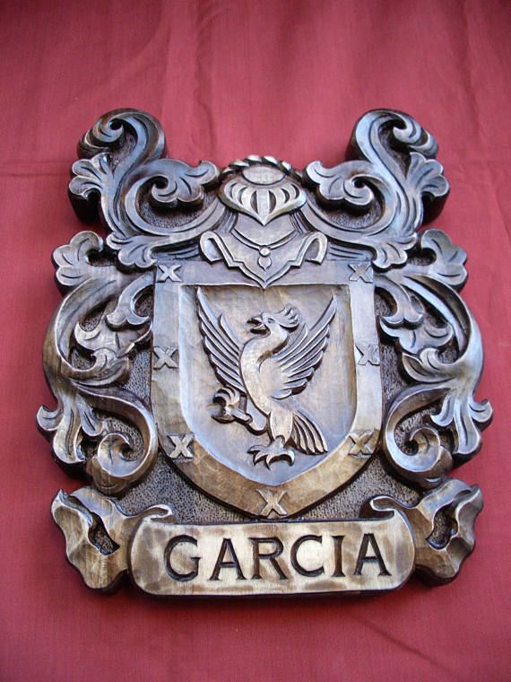 Custom Family Crest Coat Of Arms Personalized Shield Wooden Family