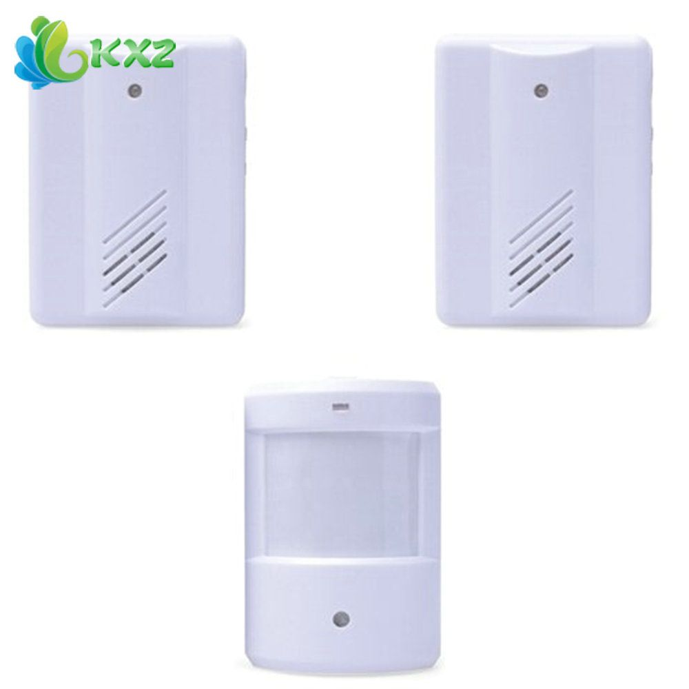 driveway protection garage leshp security on doorbell wireless from item home infrared alarm sensor in system motion detector