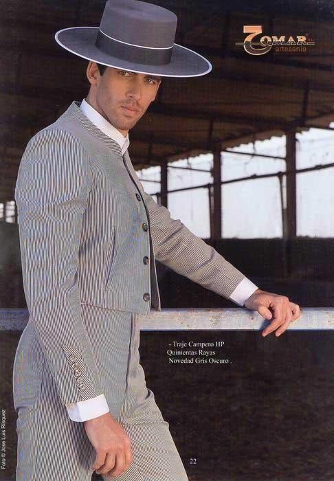 Striped Dark Grey HP Campero Suit