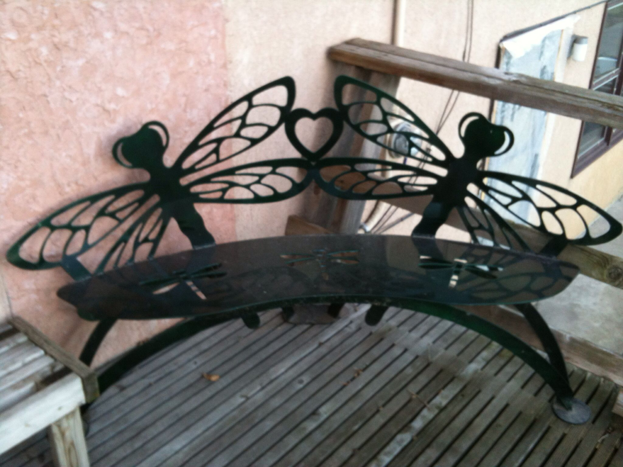 Dragon fly bench