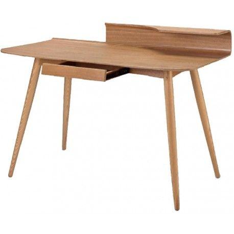 Harper houten design bureau in retro stijl Depot Design meubel