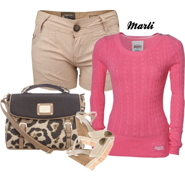 A fashion look from February 2013 featuring Superdry sweaters, Sublevel shorts y Gucci sandals. Browse and shop related looks.