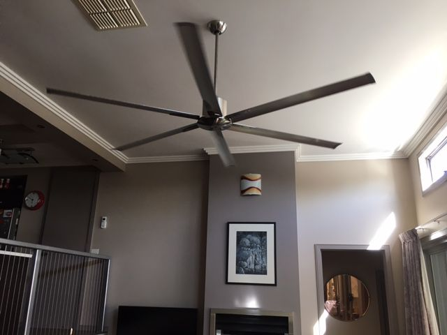 Large Ceiling Fan Maelstrom 84 Dc Ceiling Fan Brilliant