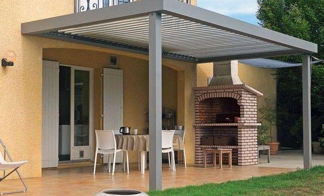 installation d 39 une pergola solaire sur mesure jardin pinterest pergola solaire et sur mesure. Black Bedroom Furniture Sets. Home Design Ideas