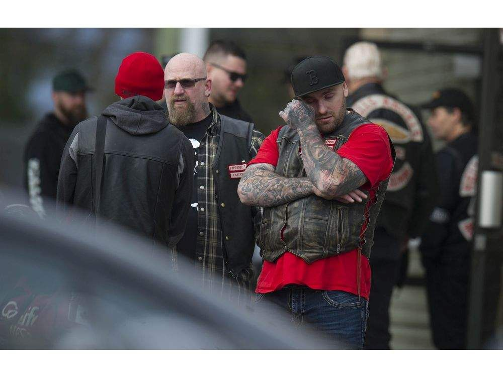 REAL SCOOP: Hundreds attend service for Hells Angel Chad