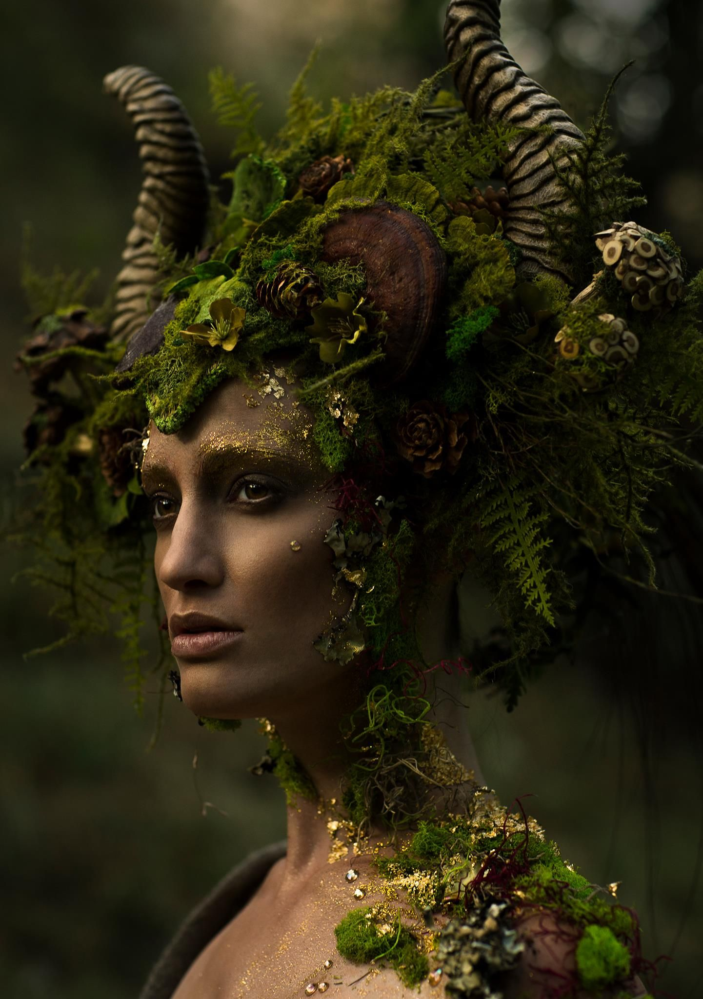 Spring is coming!  I have visions of faeries, nymphs and mother nature pieces dancing in my head. I will be stocking the shop with Spring delights very soon. etsy.com/shop/MissGDesignsShop  What new creatures would you like to see?   Photographer: Emily Teague Photography Headdress: Miss G Designs Model: Kelli Kickham Makeup: Mckenzie Gregg MUA Lighting Assistant: Christina Schellhous Horns: Faust & Company Masks