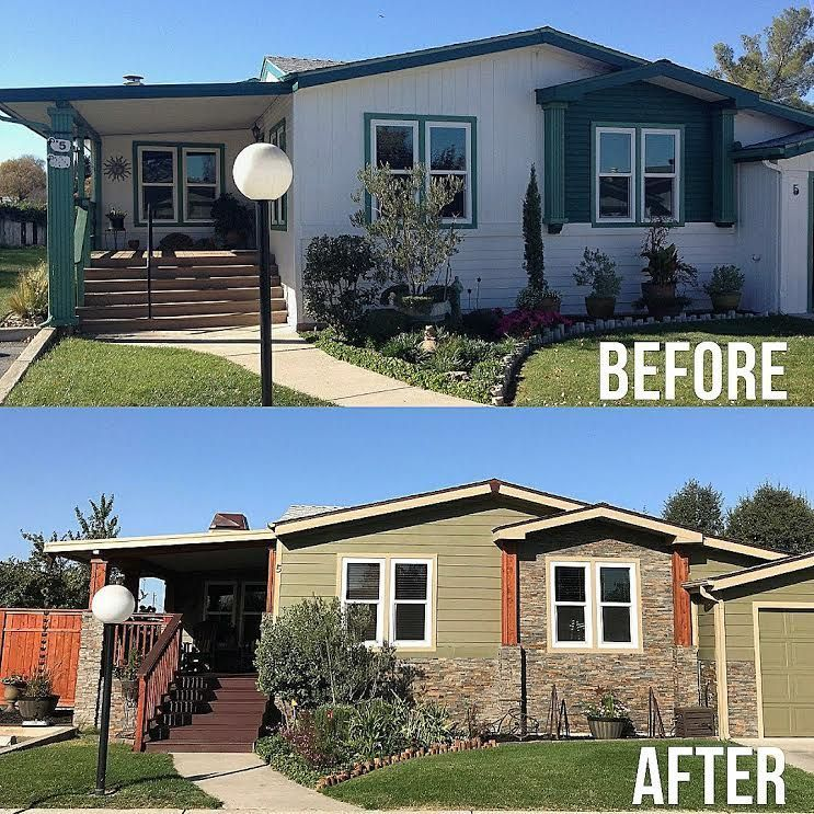 Mobile Home Additions: Modular Home Before And After