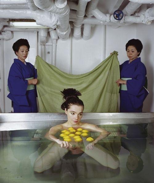 bjork in drawing restraint 9, directed by matthew barney, 2005