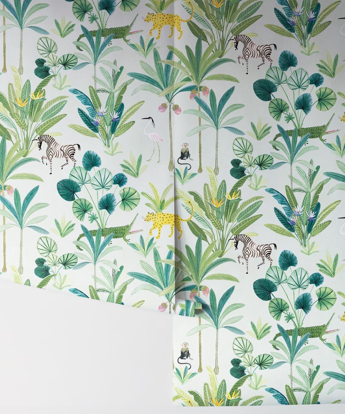 Jungle Wallpaper • Animal Kingdom Tropical