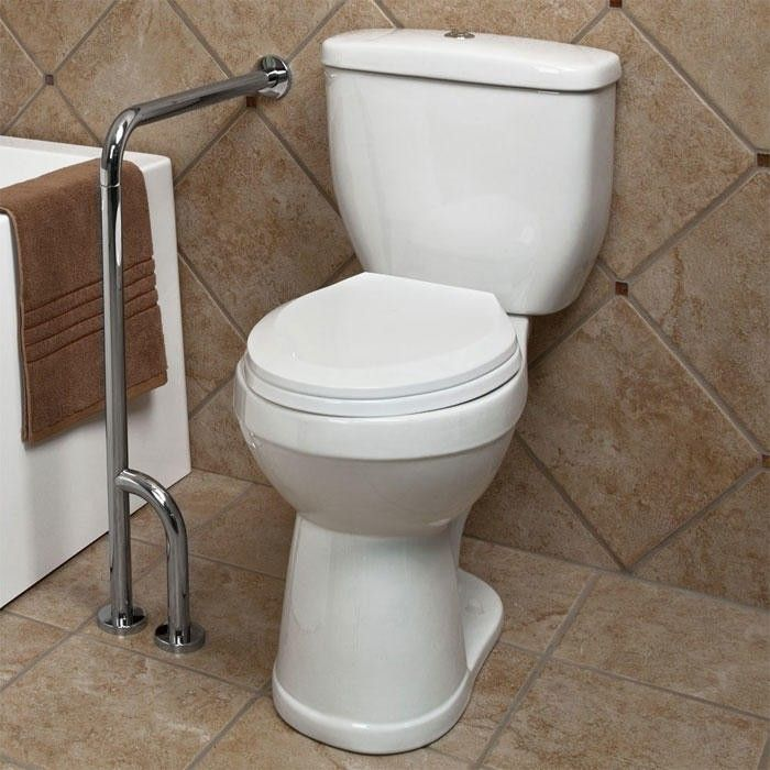 Pickens Walltofloor Grab Bar  Grab Bars Bath Remodel And Walls Fair Bathroom Safety Bars Decorating Inspiration