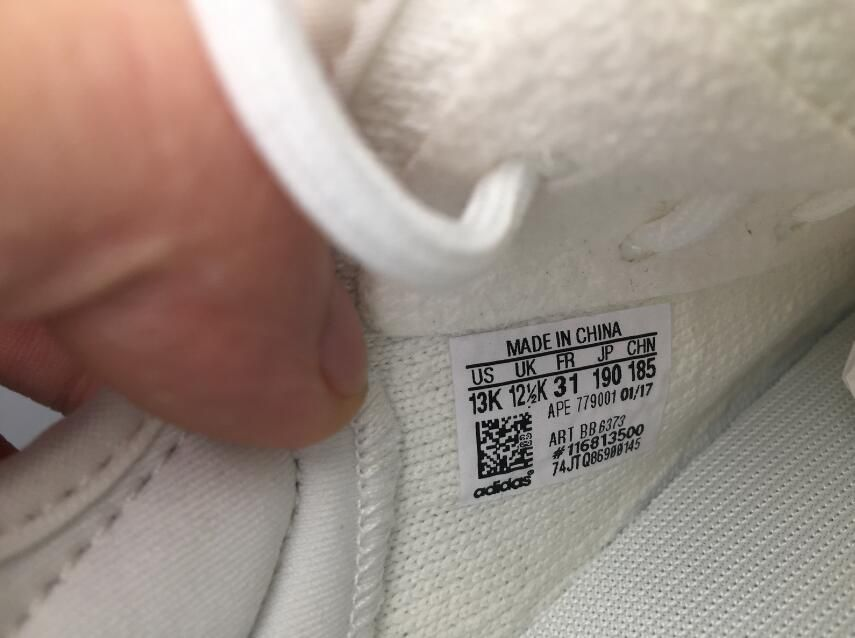 "6c2397574e5 Adidas Yeezy Boost 350 Infant ""Cream White"" BB6373 Kids Real Boost for  Sale 09"