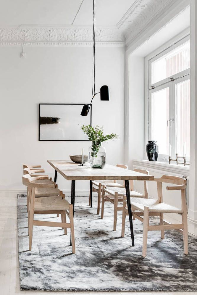 GET TO KNOW EVERYTHING ABOUT THIS MINIMALIST DINING ROOM