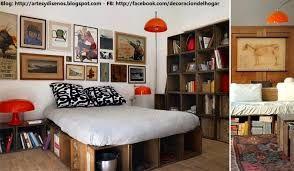 Resultado de imagen para closet con cajas de madera
