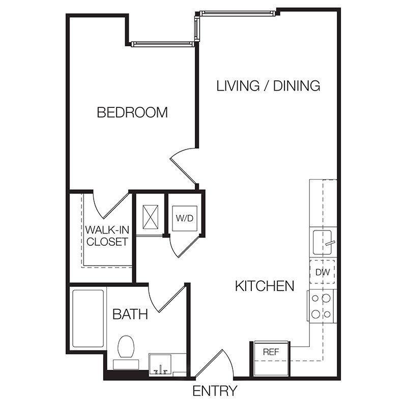 Apartments Floor Plans Bedroom Theapartment One Villas
