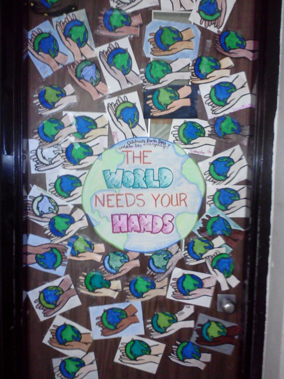 Earth Day Lesson - Classroom Door Decoration | School ...
