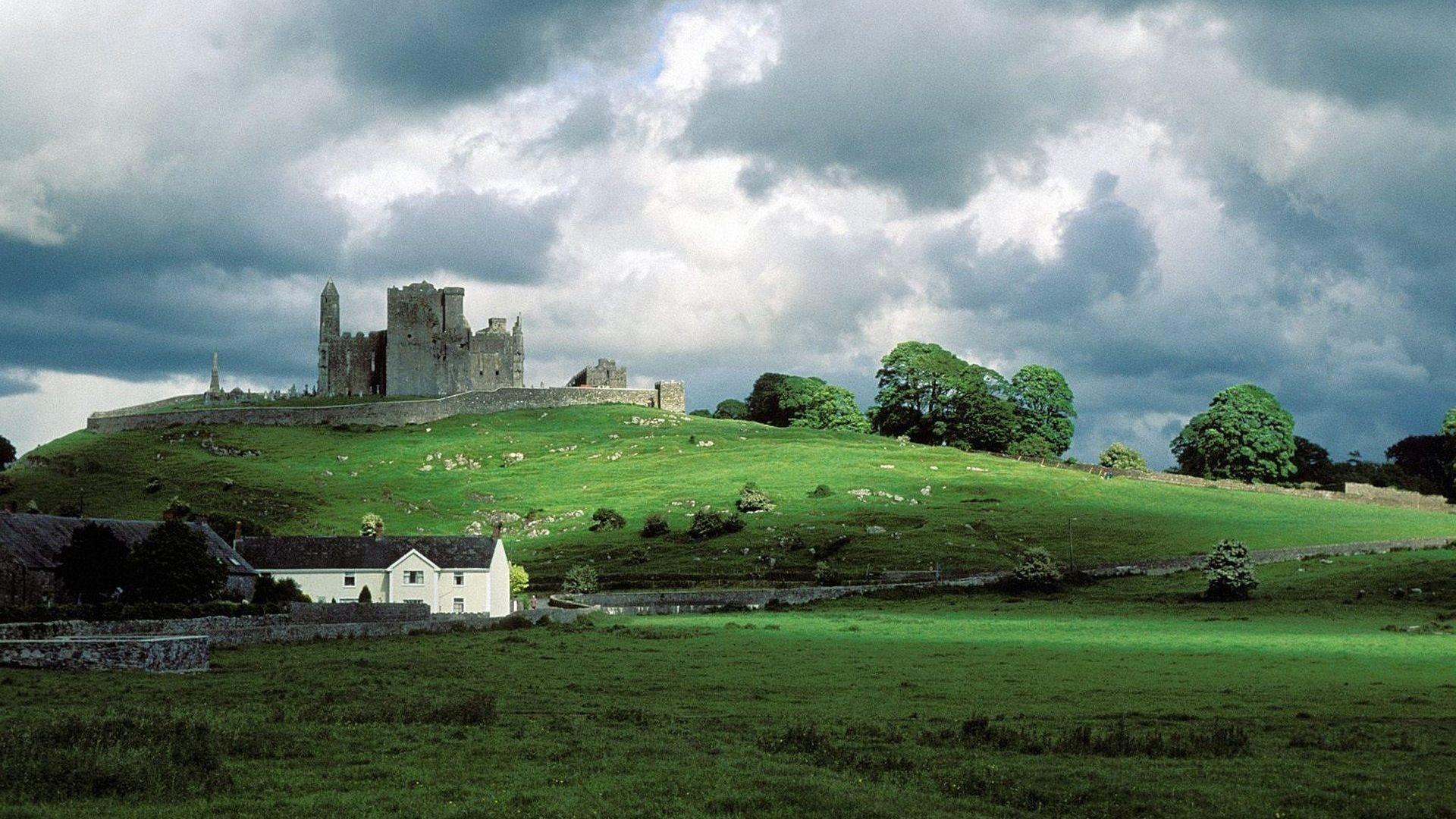 Landscapes Ruins Ireland Rock Of Cashel 1920x1080 Wallpaper Castles In Ireland Ireland Landscape Ireland Pictures
