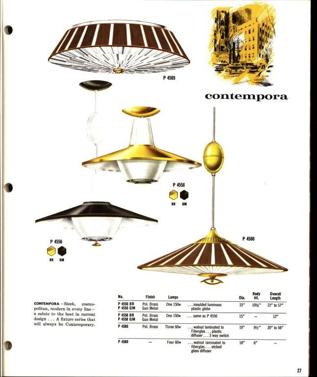 1963/Progress Lighting Fixtures Catalogue Page  sc 1 st  Pinterest & 1963/Progress Lighting Fixtures Catalogue Page | lamps | Pinterest ...