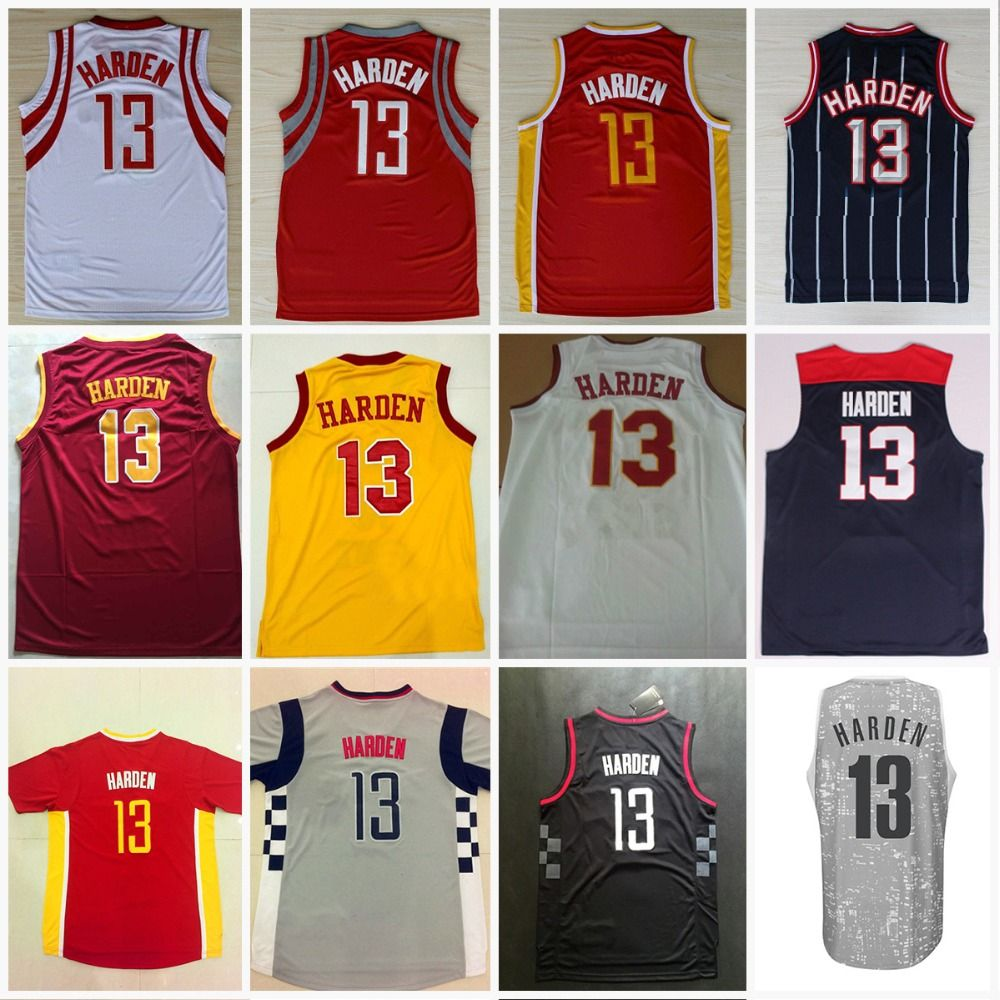 check out 2abb4 83dfe promo code for james harden 13 houston rockets stripe blue ...