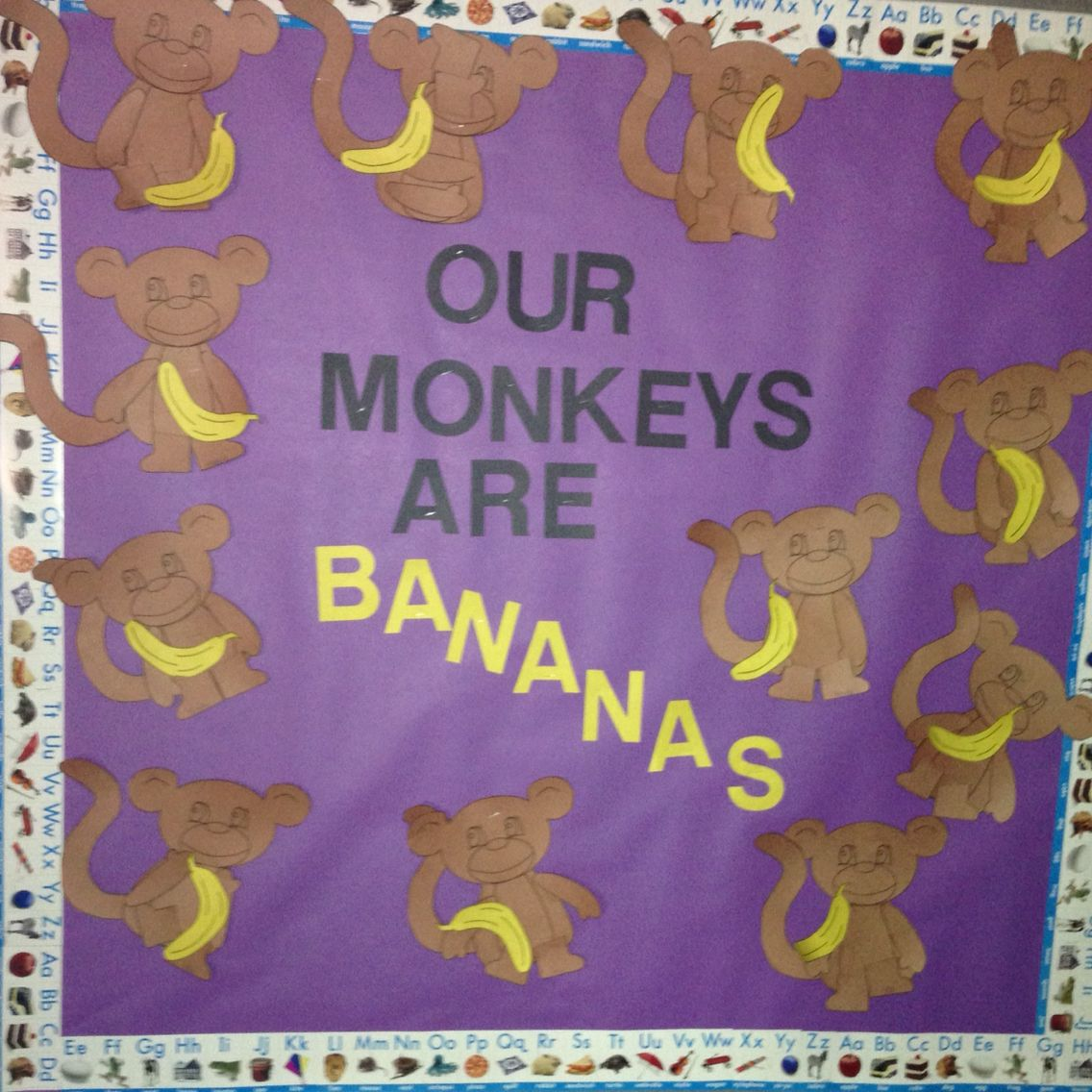 M Monkeys Are Bananas