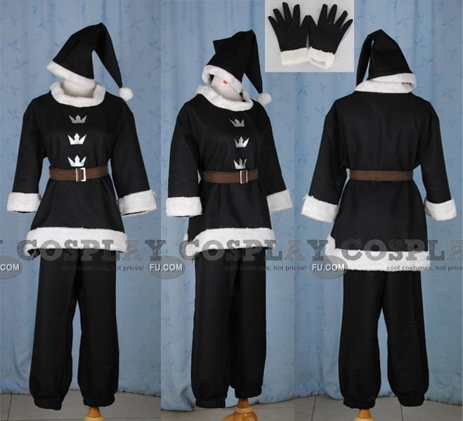 Sora Christmas Town Cosplay.Sora Cosplay Costume Christmas Town From Kingdom Hearts
