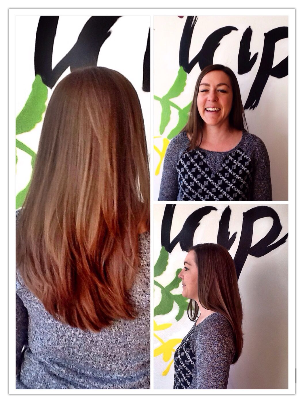 haircut by amber at my hair trip salon denver - thanks kerry! - long