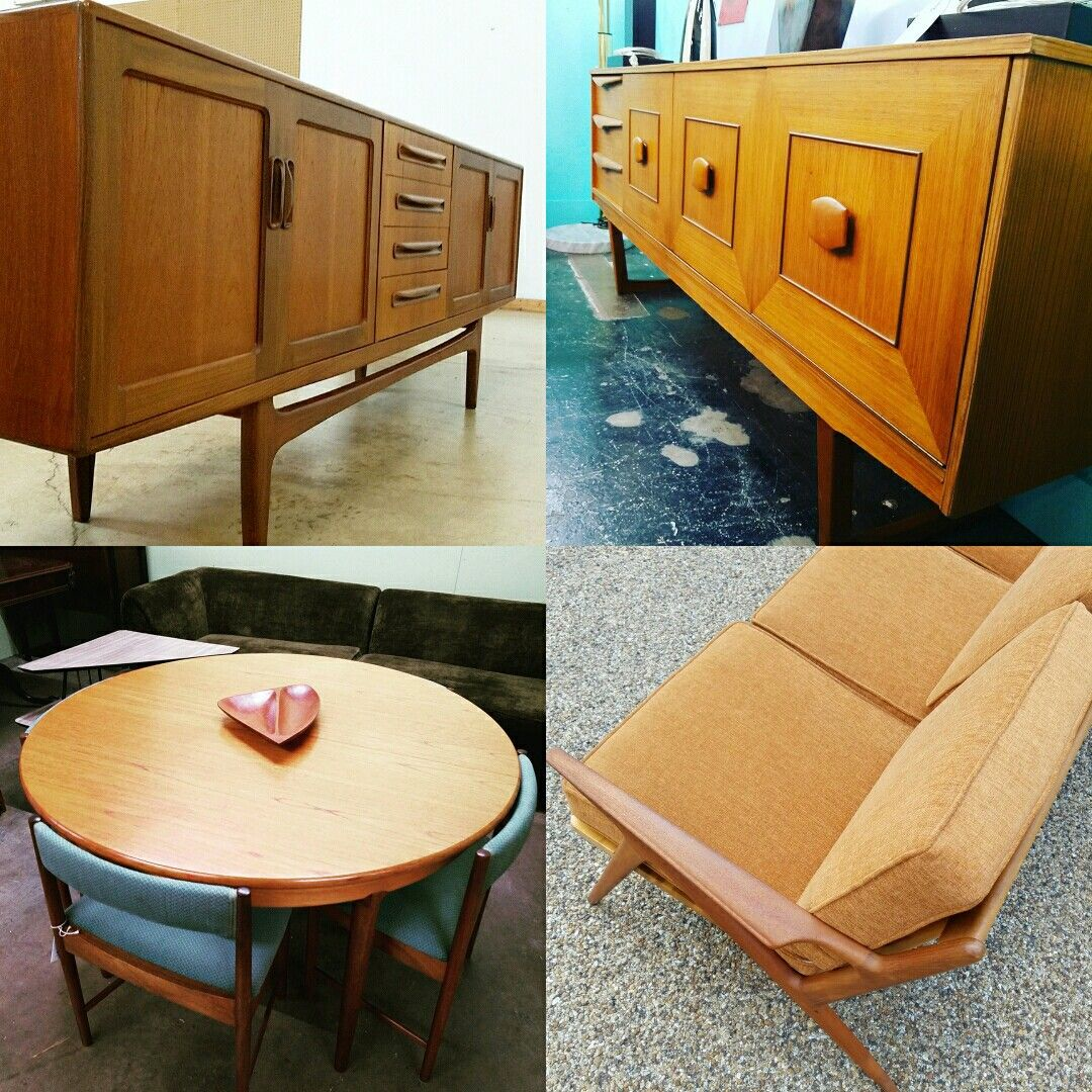 Mid Century Modern And Danish Modern Furniture Available @ White Elephant  Antiques And Lucas Street