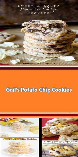 World Famous Potato Chip Cookies #potatochipcookies World Famous Potato Chip Cookies #potatochipcookies
