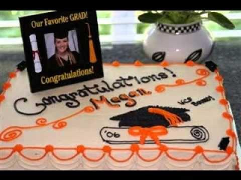 Easy Diy Graduation Cake Decorations Ideas Youtube Graduation