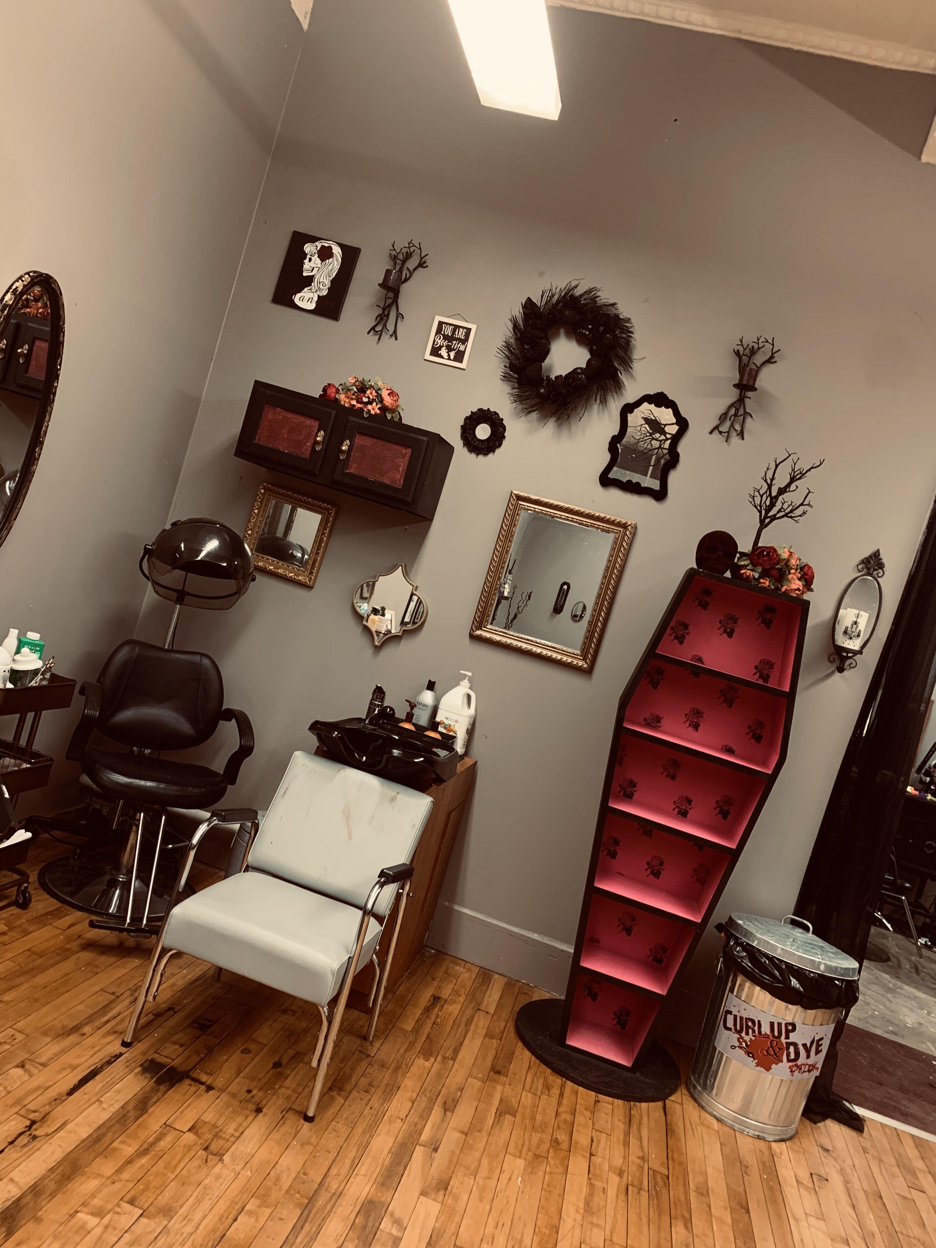 Gothic Decor Barber Shop Decor Hair Salon Names Hair Salon Decor