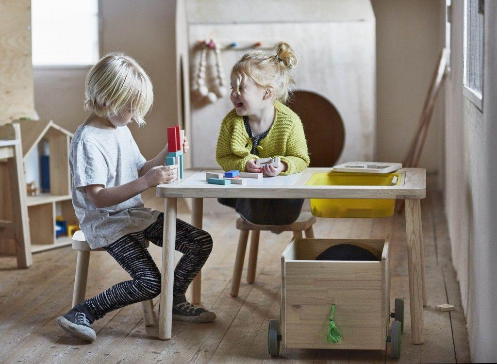 El otro día, por casualidad, me enteré de que están llegando a Ikea unas novedades en mobiliario para niños chulísimas muy muy Mont...