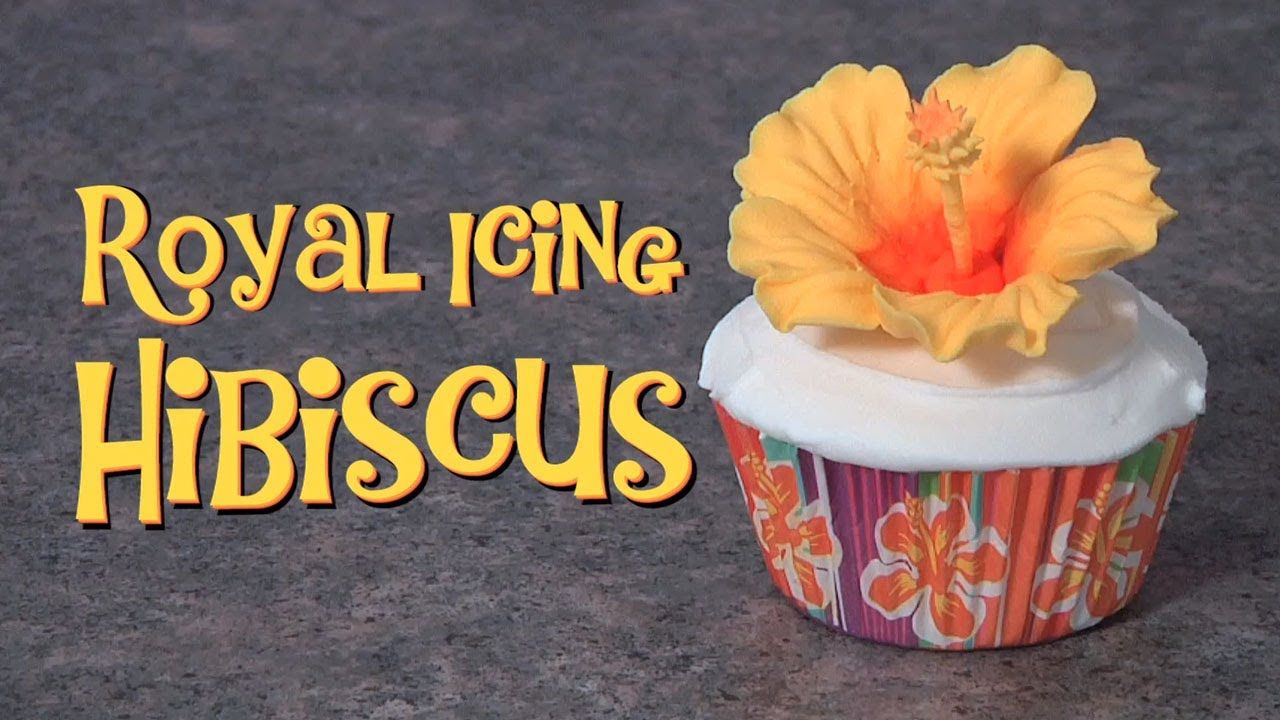 Learn How To Pipe A Royal Icing Hibiscus Baking Tutorial Videos In