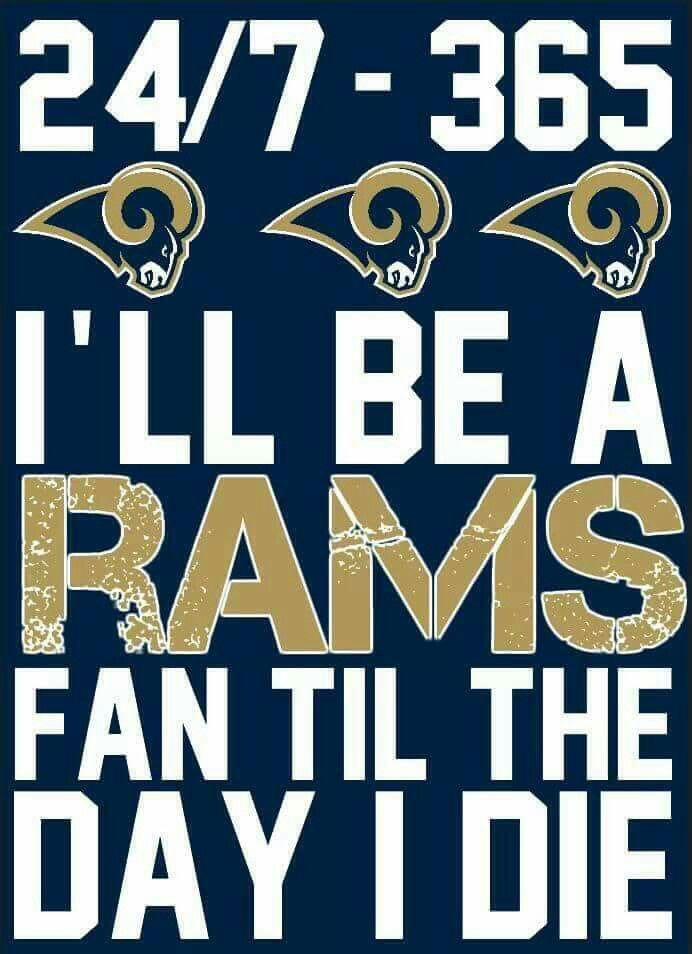 Rams Forever La Rams Football Football Quotes Rams Football