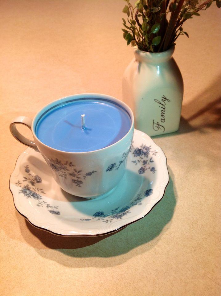 Tea Cup Candles!!   https://www.facebook.com/designbynoon