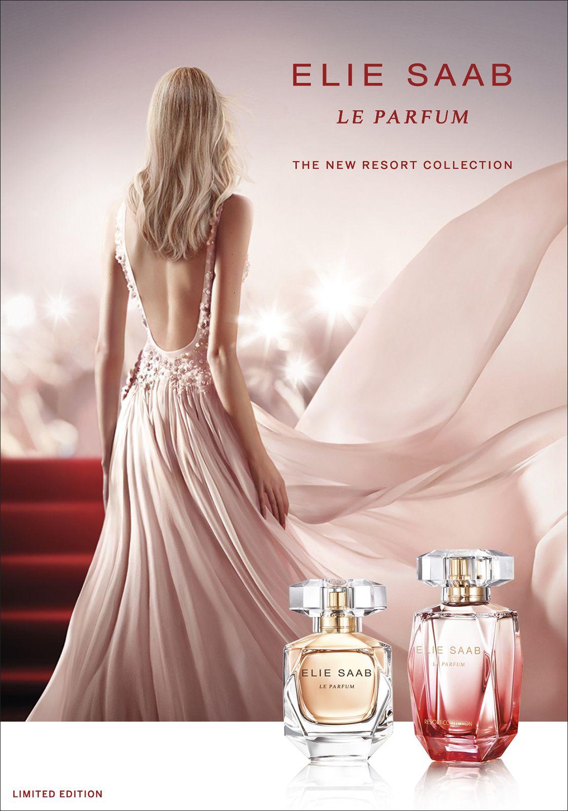 Beauty Find Elie Saab Le Parfum Resort Ad Campaigns Elie Saab
