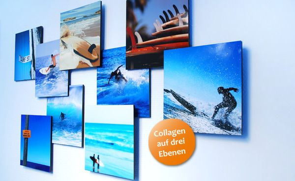 Inspration 3D-Fotocollage | DIY - Decoration | Pinterest