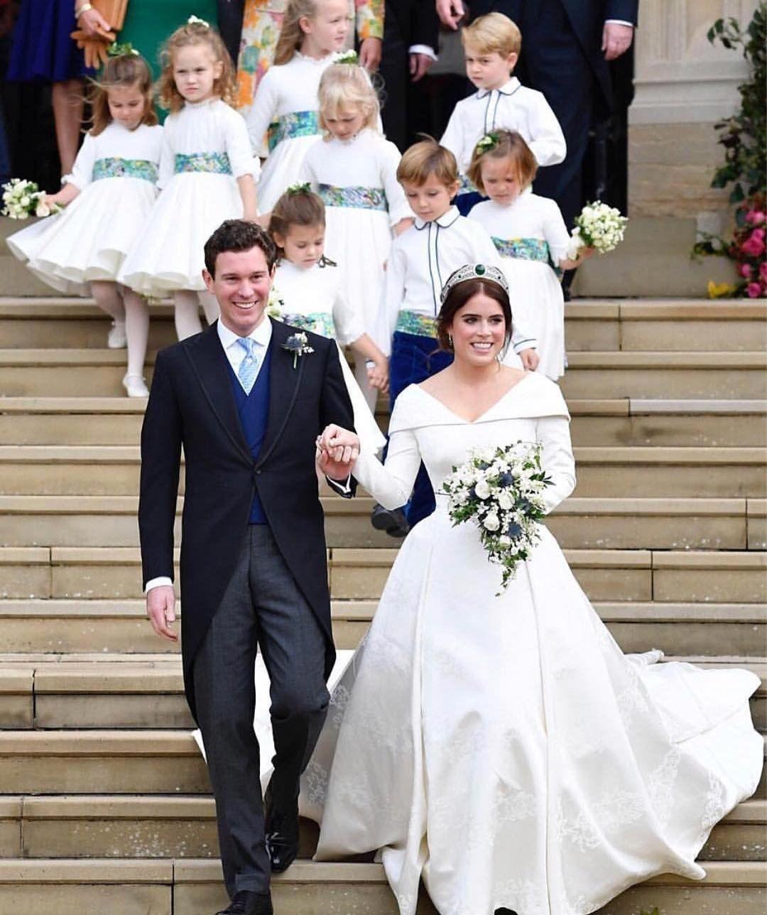 Sarah Ferguson Y La Princesa Eugenia Amor De Madre Amor: Casamiento Real De La Princesa Eugenia, Nieta De La Reina