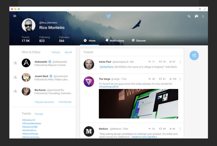 Incredible Examples Of Google Material Design Of Major Platforms
