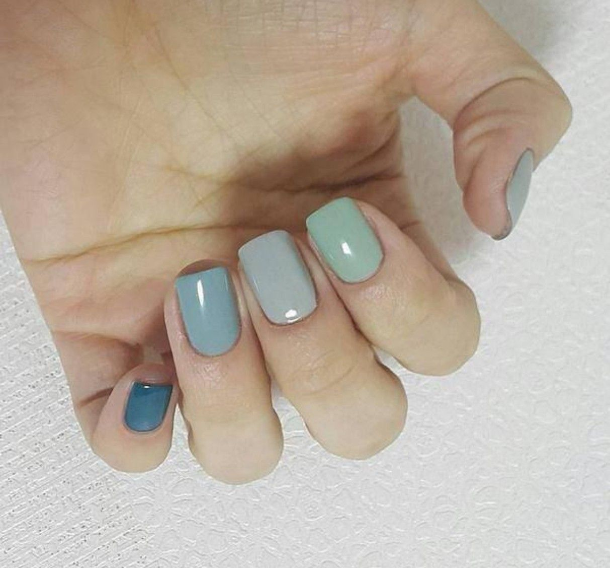 Manicure Nails Gra Nt Cool Shades