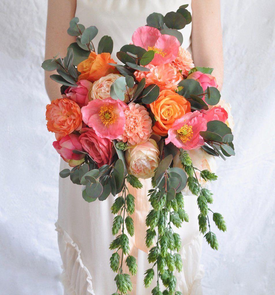 DIY Summer Wedding Bouquet Summer wedding bouquets, Diy