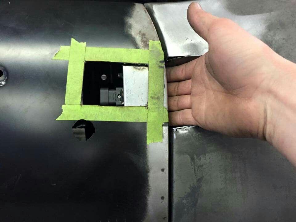 Custom Smooth Door Handles Pic 5 Custom Cars Car Detailing Metal Fab