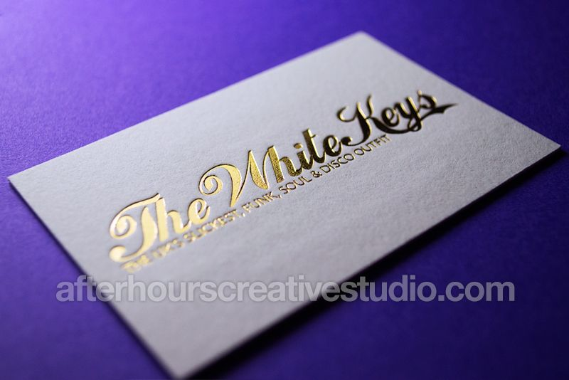 Custom Letterpress Business Cards With Vintage Printing And Hot Foil Stamping On 600gsm Cotton Card At Affordable Price Desired Debossed Effects