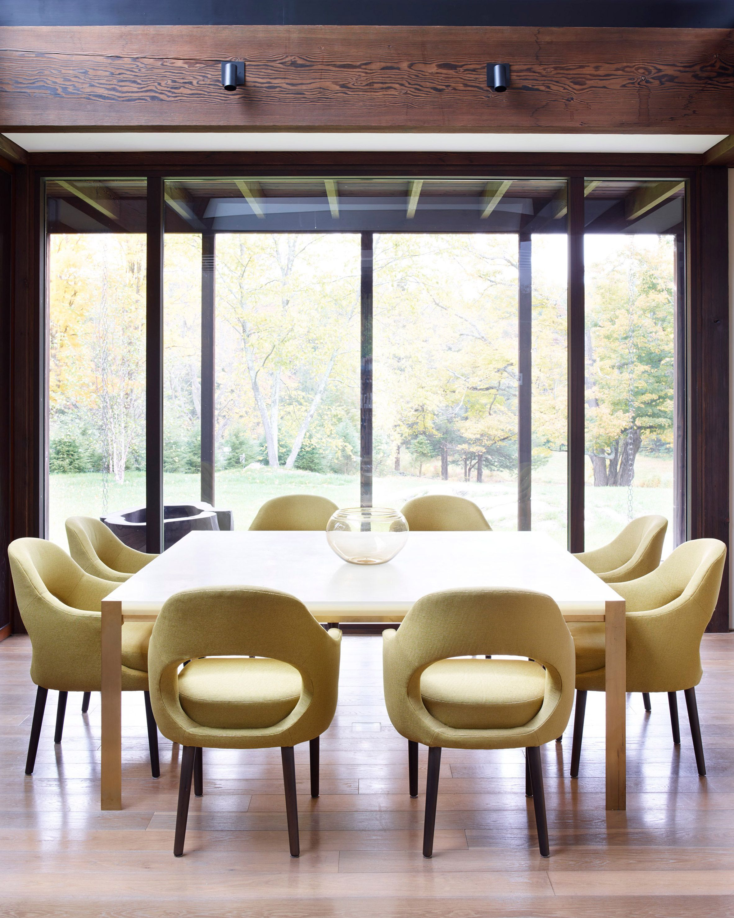 Pound Ridge House By Tsao Mckown Modern Style Homes Home Decor