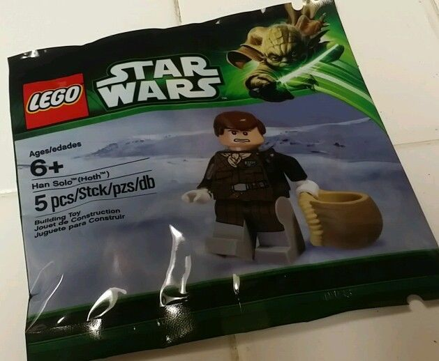 Han Solo Hoth Minifigure Exclusive Polybag 5001621 Lego Star Wars